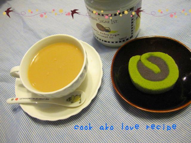 ❀紅茶にもココナッツオイル❀