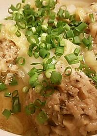 豚団子と白菜の簡単スープ☆