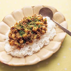 豆のキーマカレー