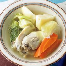 とりと野菜のおかずスープ