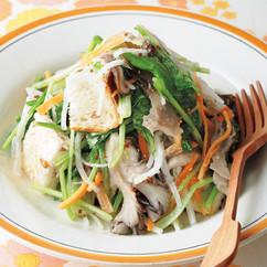 全粒粉パン入り生野菜サラダ
