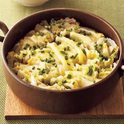 豚肉と白菜のピリ辛チーズ鍋
