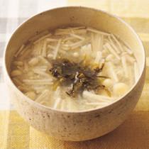 えのきのとろろスープ