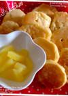赤ちゃんおやつ♡りんごの豆腐ホットケーキ