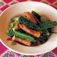 豚肉と苦瓜の炒め煮
