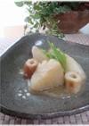 里芋とちくわの簡単味噌煮