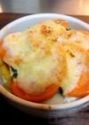 ココットカマン♬柿のホットサラダ