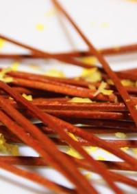 Dried soba noodles揚げ