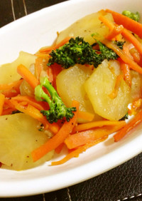 ヤーコンとお好きな野菜で〜簡単炒め