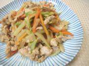 豚肉と白菜の中華炒めの写真
