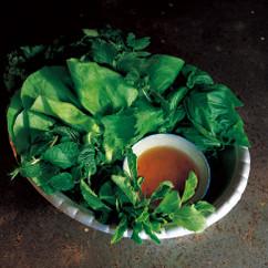 生野菜とハーブの盛り合わせ
