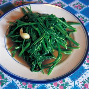 空芯菜のニンニク炒め