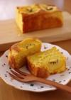 ゴールドキウイの簡単パウンドケーキ
