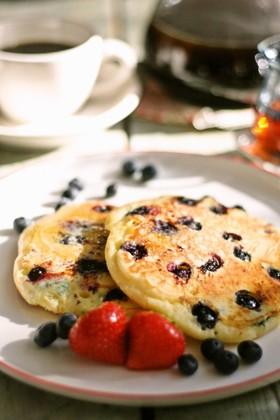 ブルーベリーパンケーキ