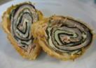 弁当 くるくる豚肉紫蘇海苔チーズ揚げ巻き