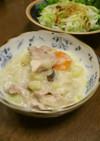 ワンルームご飯★ホワイトシチュー
