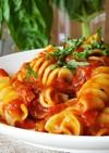 本場イタリアのジューシーなトマトソース