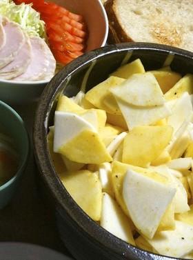 超簡単♫●蕪と林檎のマスタード風味サラダ