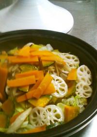 新しい活用法 タジン 野菜の蒸し焼き保存