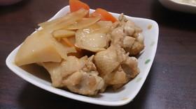 給食メニュー    鶏手羽元のさっぱり煮