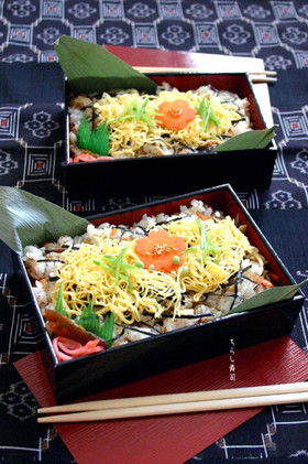 特別な日。母からの【ちらし寿司】