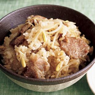 韓国風炊き込みご飯