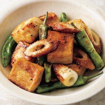 照り焼き豆腐