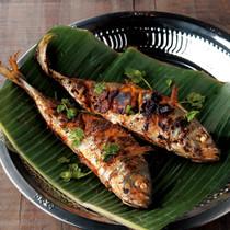 フィッシュフライ(魚のスパイス焼き)