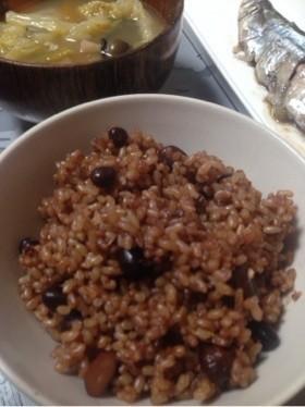 発芽玄米で酵素玄米発酵玄米寝かせ玄米❤️