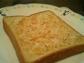簡単ココナッツトースト♪