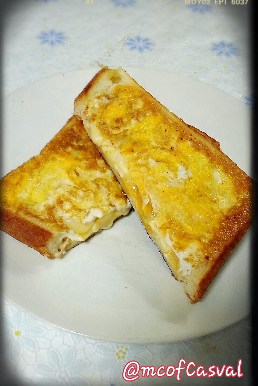 チーズとろける♪エッグウィンドウトースト