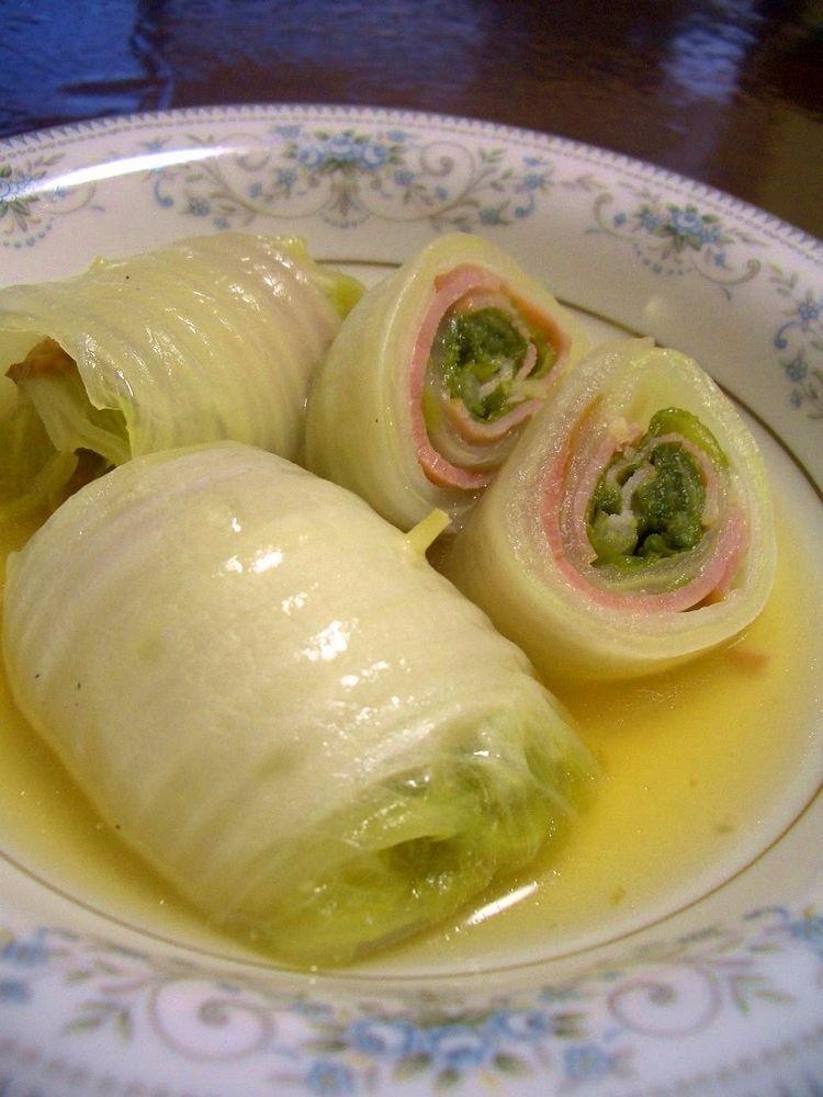 ベーコンでお手軽☆白菜ロール