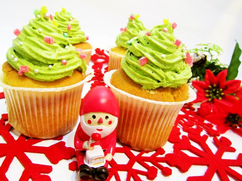 ☆Xmas☆HMで簡単に作るカップケーキ