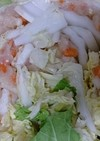 鳥ひき肉と白菜の重ね煮