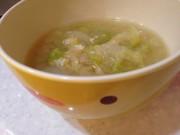 ヘルシー味噌汁の写真