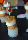 田楽味噌を作って大根と里芋の和ピンチョス