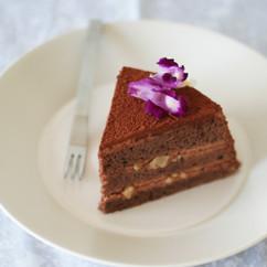スチームチョコレートケーキ