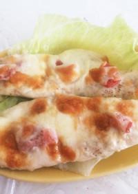 鶏ささみの梅チーズ焼き☆
