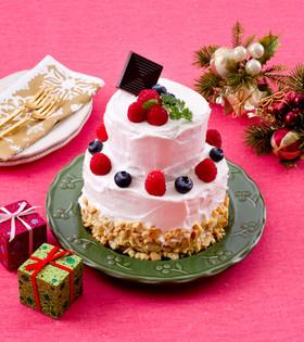 クリスマスケーキ 糖質制限 ダイエット