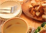 スライスチーズde簡単チーズフォンデュ