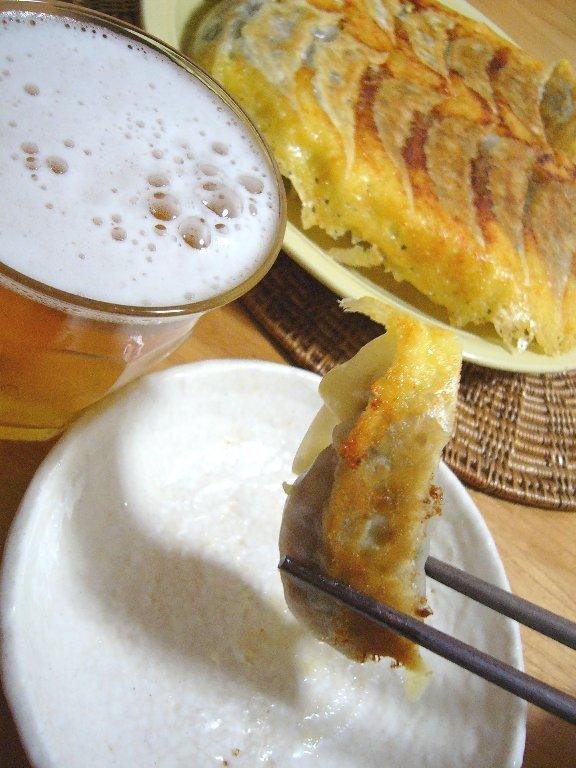 チーズの羽♪カレーライス餃子