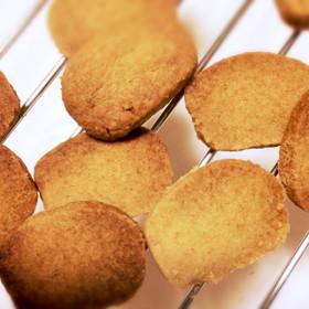 材料3つ★ココナッツオイルの簡単クッキー