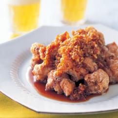 鶏のから揚げ 玉ねぎソース