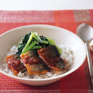 韓国風かば焼き丼