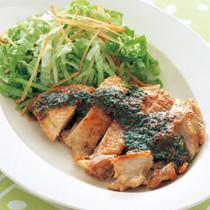 鶏肉のソテー バジルマスタード