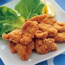 鶏肉のクイックチーズフライ