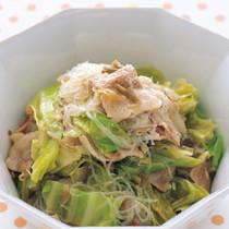 豚肉とキャベツの中華煮
