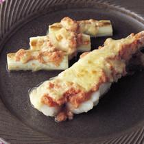 たらとねぎの明太チーズ焼き