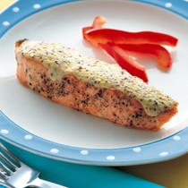 鮭のマスタードマヨ焼き