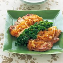 豚肉のソテー オニオンソース